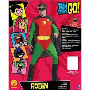 Teen Titans GO! Robin Halloween Cosplay Costume